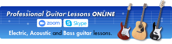 Guitar Lessons, Guitar Teacher offering Electric guitar, Acoustic guitar and Bass Guitar Tuition, West Finchley, North and Central London